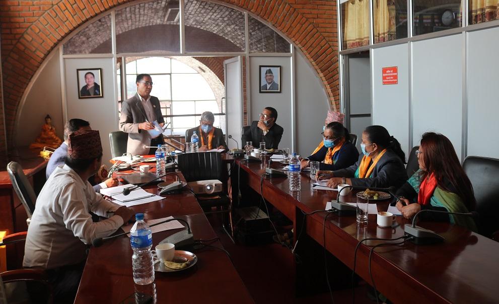 दस्तावेज र अभिलेख अध्ययन गर्न संसदीय समिति लुम्बिनीमा