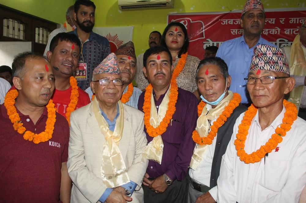 मोरङमा माधव नेपाल समूहको समानान्तर कमिटी गठन, चन्द्रवीर राई अध्यक्ष