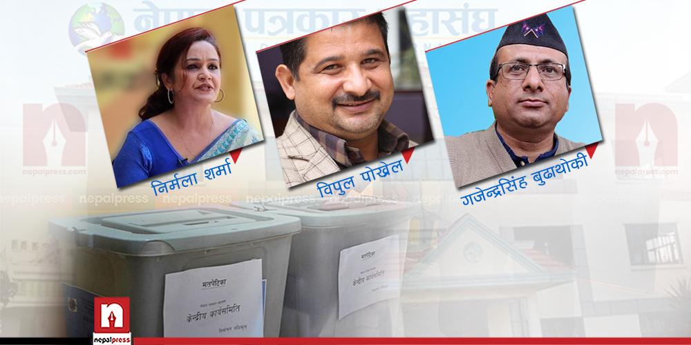 पत्रकार महासंघको चुनाव- विपुल प्यानलको अग्रता, कसले कति मत पाए ?