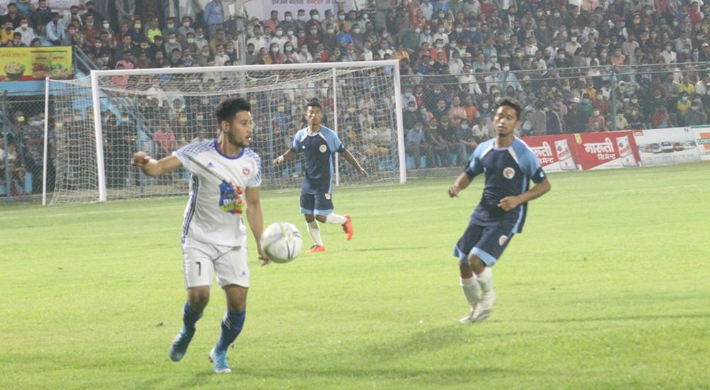 विराट गोल्डकप सुरु, उद्घाटन खेलमा घरेलु टिमको विजयी सुरूआत