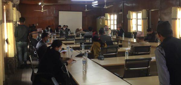 सबै जिल्लामा प्रयोगशाला स्थापना गर्नदेखि सीमामा कडाई गर्न संसदीय समितिको निर्देशन (भिडियाे)