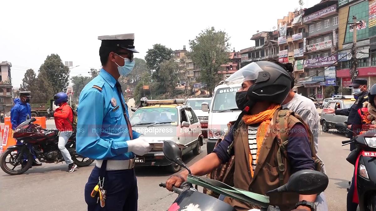 काठमाडौंमा अत्यावश्यक सवारीसाधनमा पनि जोर-बिजोर लागू हुने
