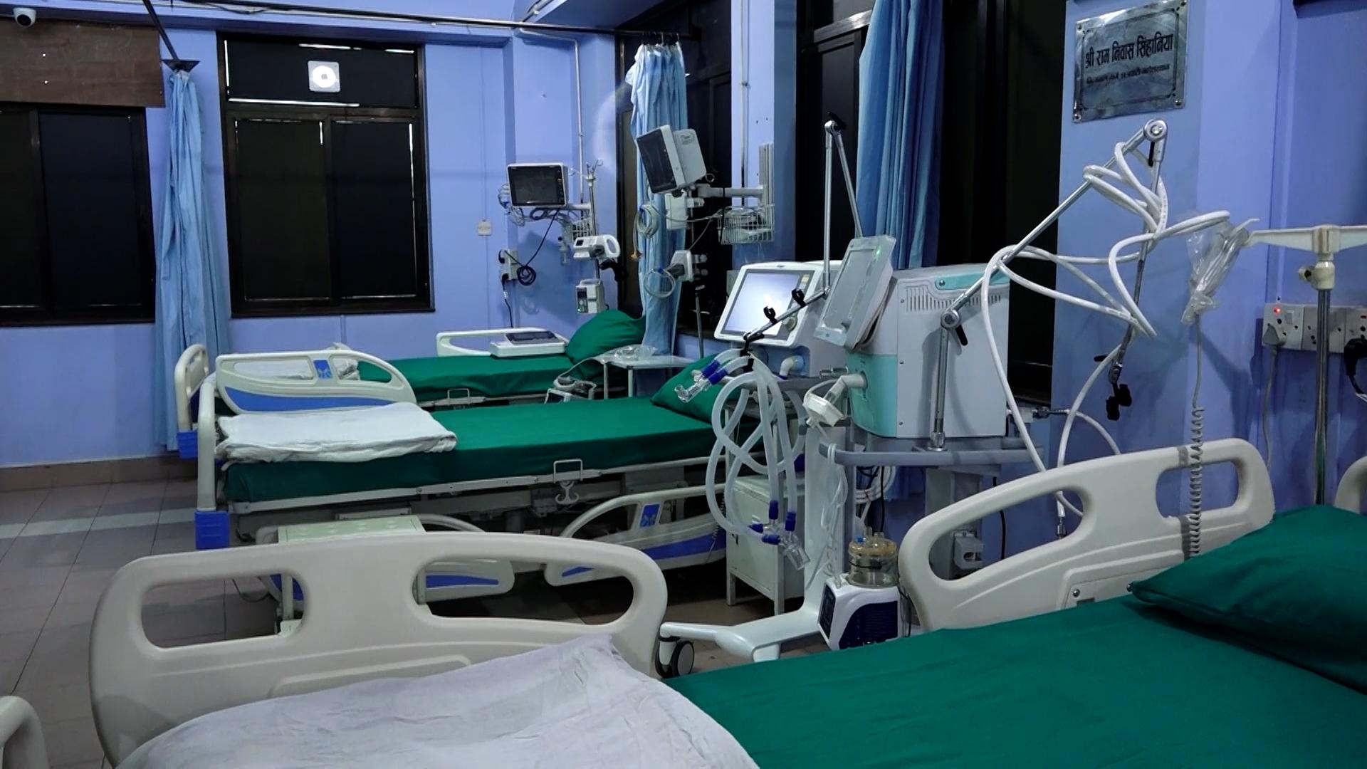 छत्रपाटी निःशुल्क चिकित्सालयमा कोभिड अस्पताल संचालन