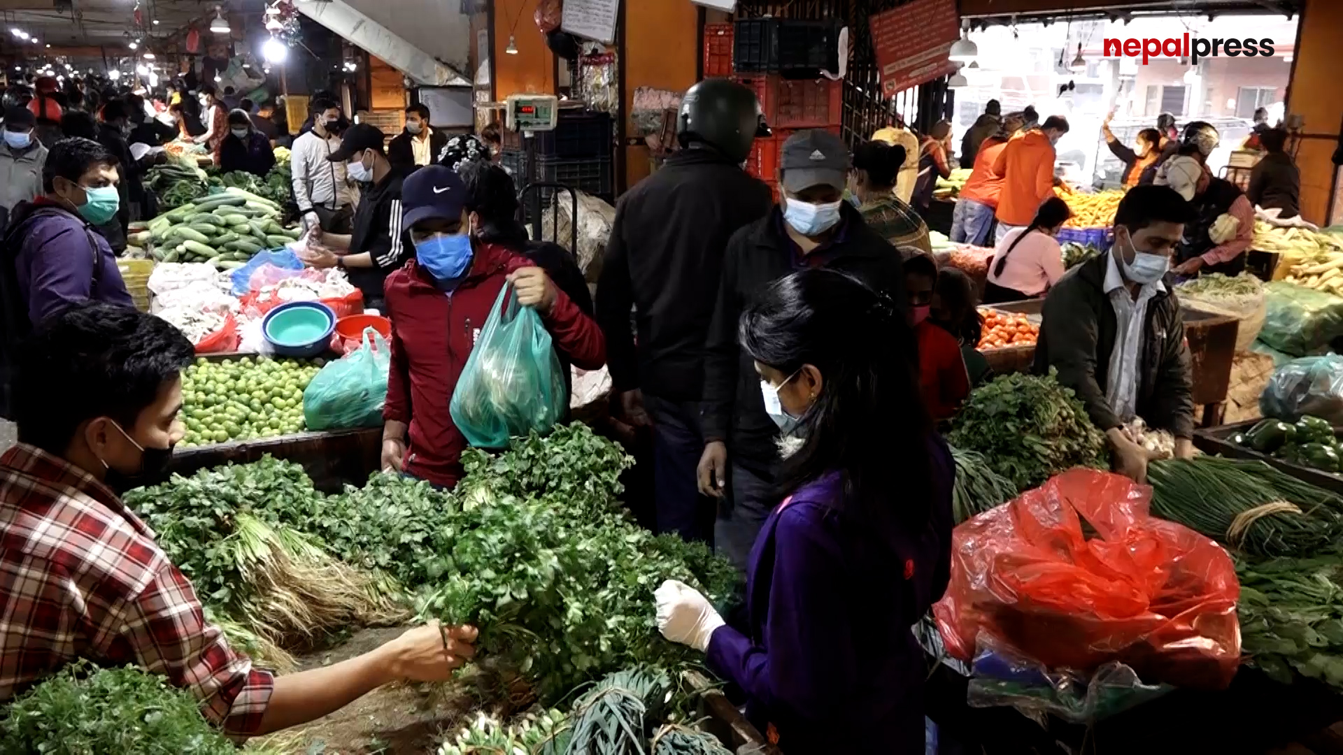 कालिमाटी तरकारी बजारकोे व्यापारमा ५० प्रतिशत गिरावट (भिडियो)