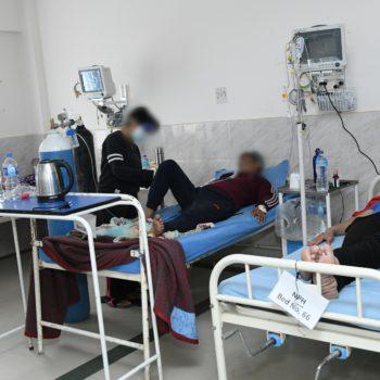 कोरोनाबाट प्रहरी अस्पतालमा १२० जनाको मृत्यु, साढे १० हजार प्रहरी संक्रमित