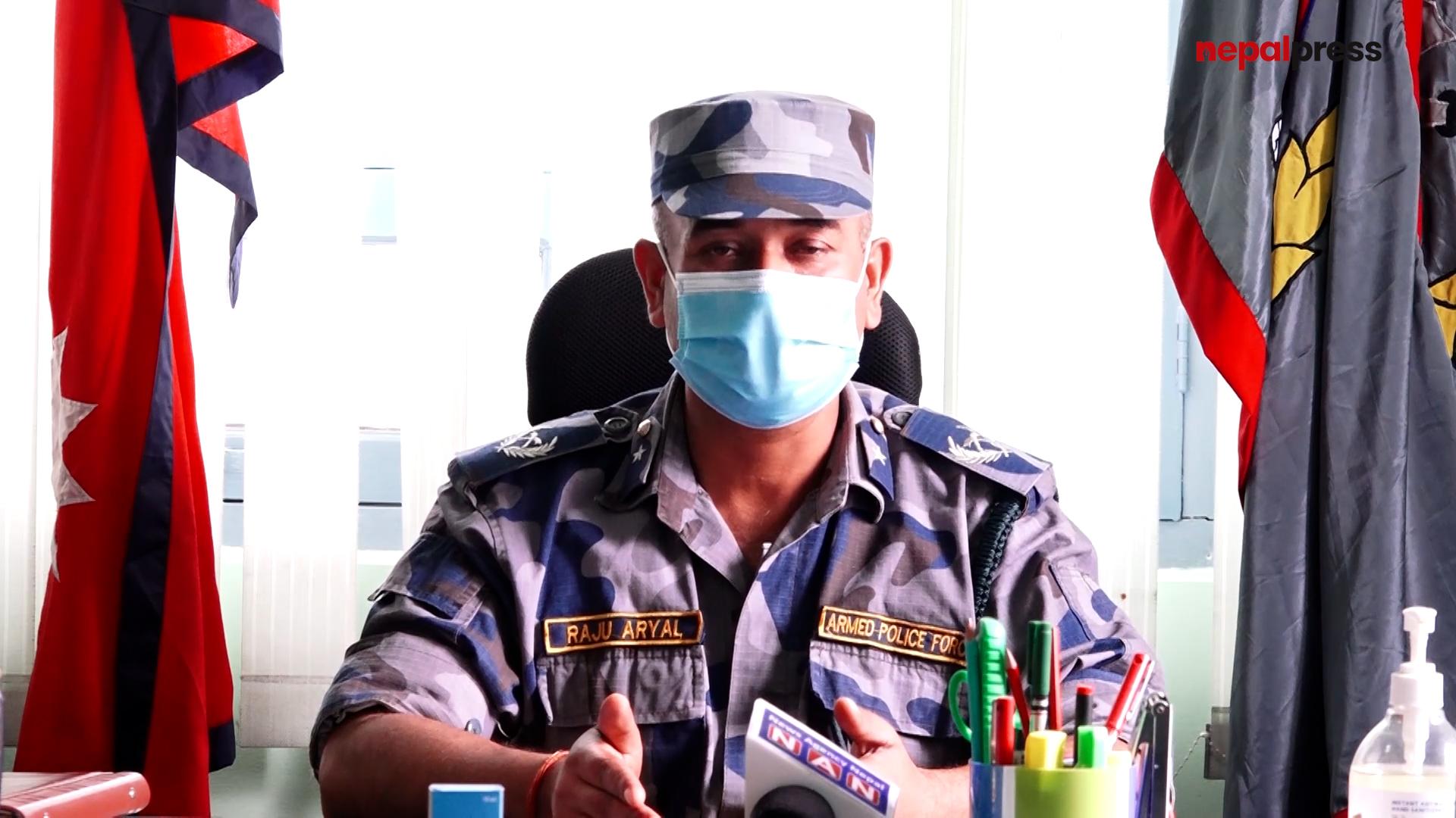 सीमा सुरक्षामा खटिएका सशस्त्र प्रहरी कोरोना संक्रमणको उच्च जोखिममा