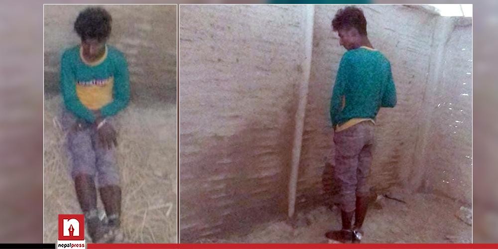 चोरी आरोपमा सप्तरीका एक किशोर ३ दिनदेखि बन्धनमा, गाउँपालिका प्रमुखकै छोराको संलग्नता !