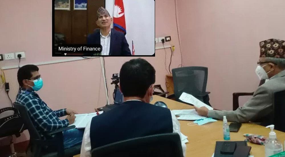 लुम्बिनीमा कोरोना नियन्त्रणका लागि भएका प्रयासबारे अर्थमन्त्री पौडेलको चासो