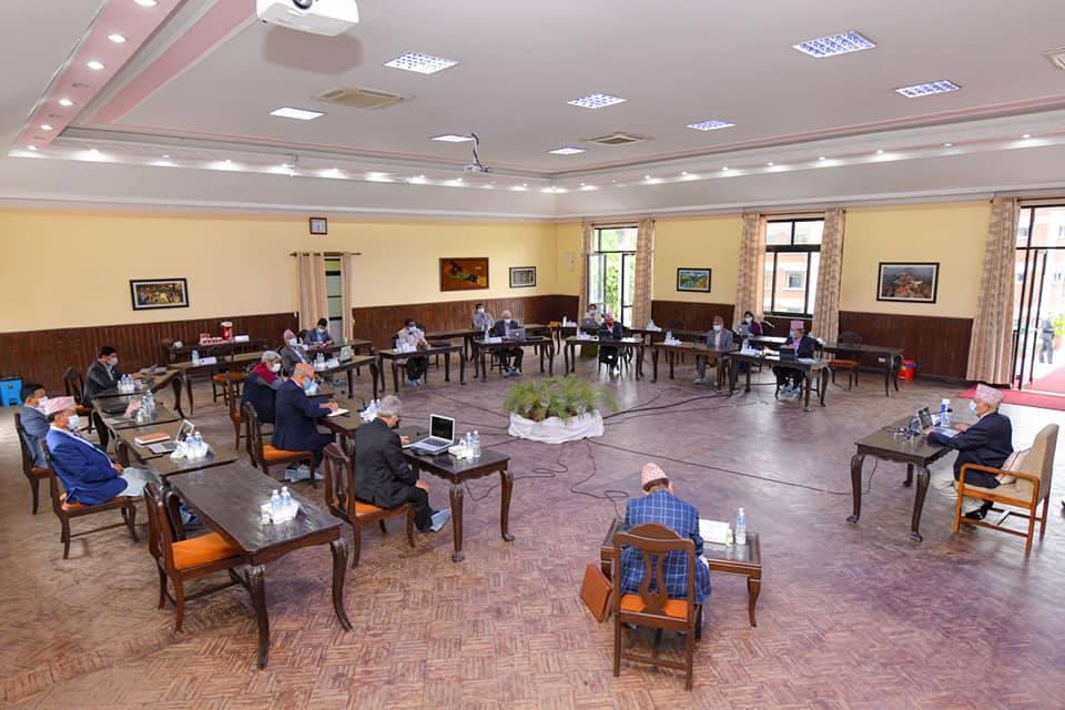 मन्त्रिपरिषद् बैठक : युनिफाइड कोभिड अस्पतालको प्रस्ताव, संक्रमित सांसदलाई मतदानस्थलको व्यवस्था गरिने