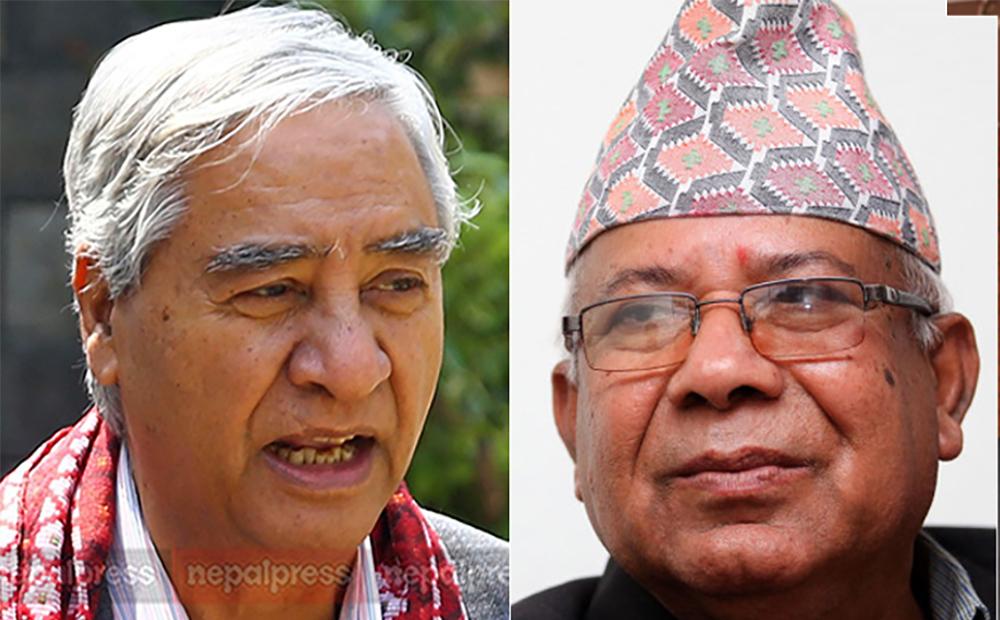 माधव नेपाल पक्षका सांसदको राजीनामा कुर्दै कांग्रेस, अविश्वास प्रस्ताव तयार