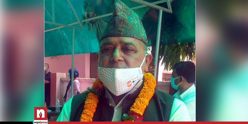 लुम्बिनीबाट राष्ट्रियसभामा विपक्षी गठबन्धनका पाण्डे विजयी