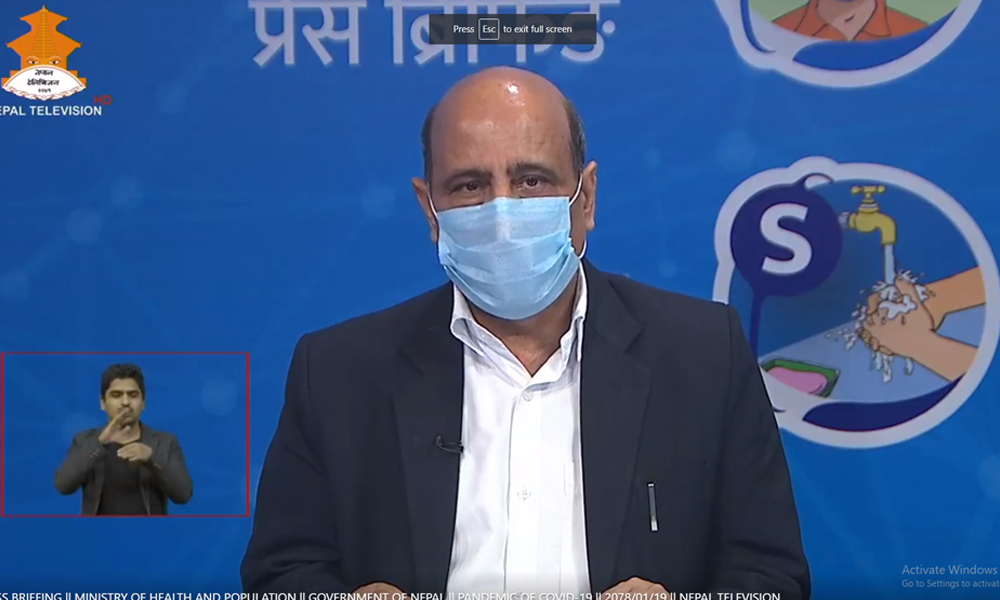 कोरोनाभाइरस नेपाल : सोमबार ७,४२५ संक्रमित थपिए, १८५ जनाको मृत्यु