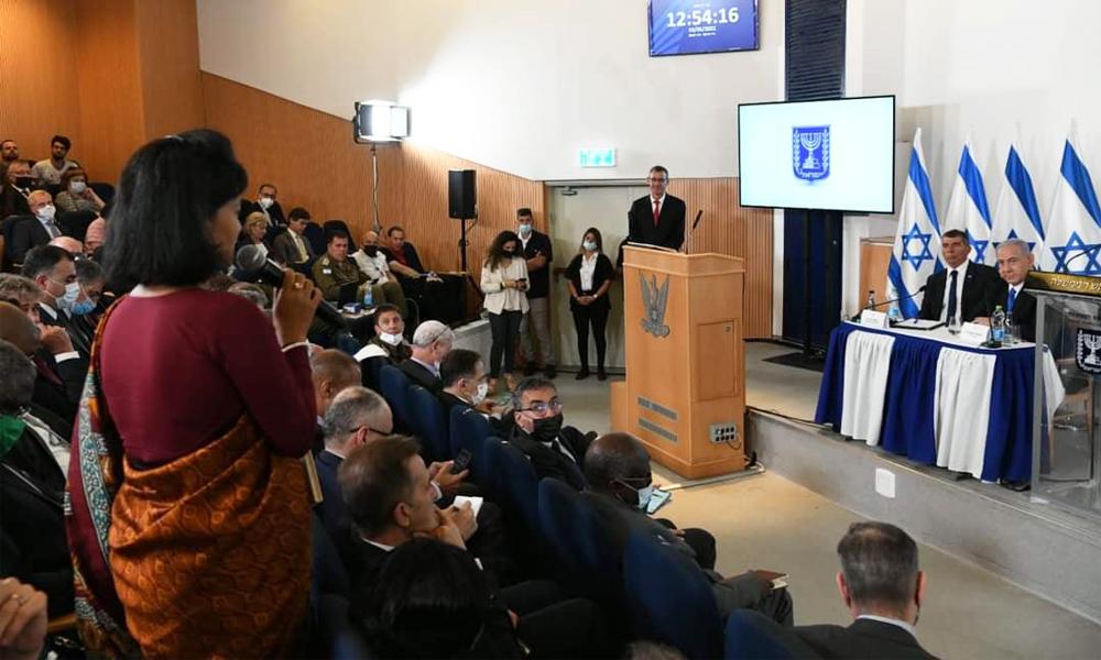 इजरायली प्रधानमन्त्रीसँग नेपाली राजदूतको आग्रह : गाजा क्षेत्रमा शान्त कायम होस्