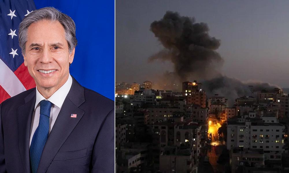 अमेरिकी विदेशमन्त्री इजरायल पुगे, गाजा युद्धविरामलाई तार्किक निष्कर्षमा पुर्याउन पहल गर्ने