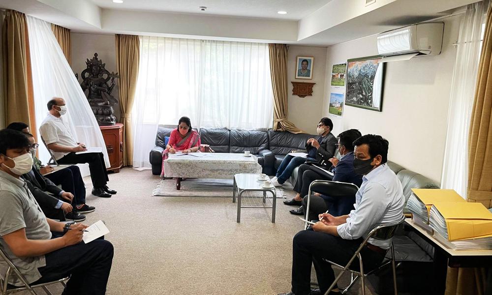 नेपालमा सघाउन जापानमा कोभिड-१९ प्रतिकार्य समिति
