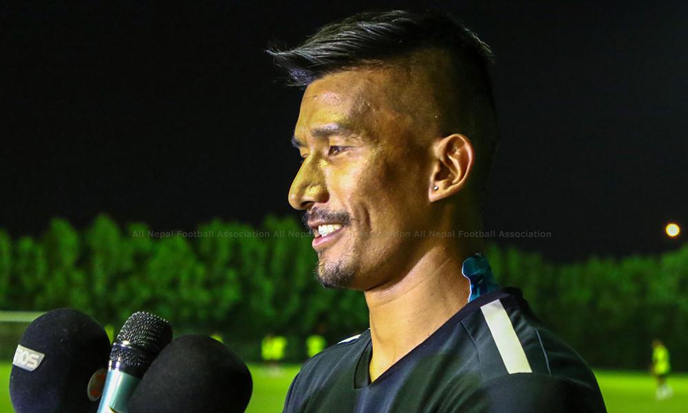 फुटबल कप्तान भन्छन् : अस्ट्रेलियासँग मरेर खेल्यौं, अरु एसियन पावरहाउससँग पनि खेल्न पाऊँ