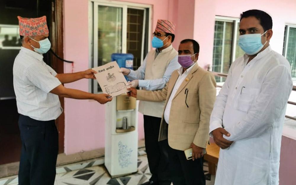 लुम्बिनी प्रदेश प्रमुखद्वारा विशेष अधिवेशनको समावेदन अश्वीकार
