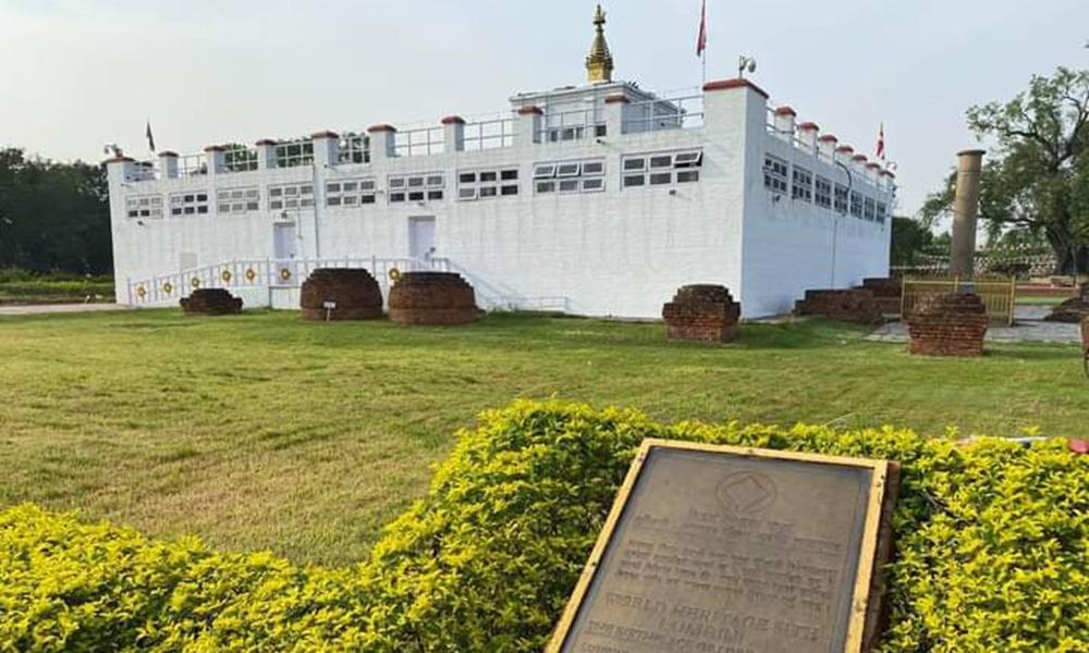 बुद्ध जयन्तीमा सुनसान लुम्बिनी