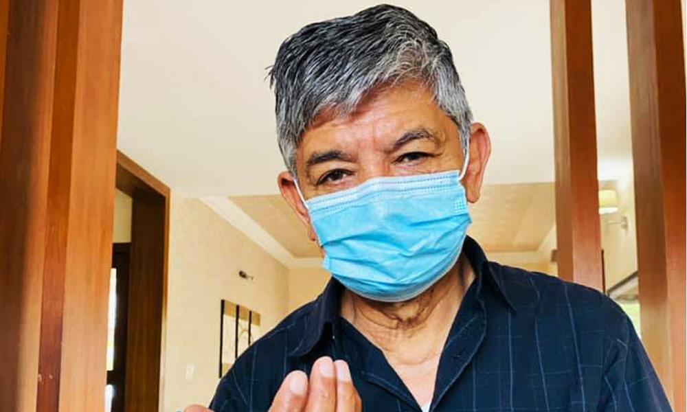 कोरोना संक्रमित मदनकृष्ण पुनः अस्पताल भर्ना, अक्सिजन लेभल घट्यो