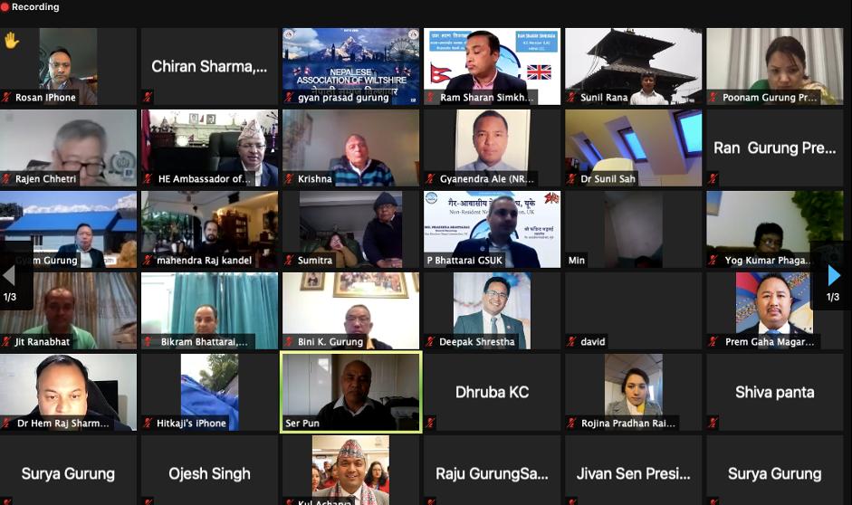 नेपालमा अक्सिजन सहयोगका लागि एनआरएनएको अभियान