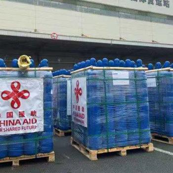 चीनले दिने अक्सिजन सिलिन्डरको दोस्रो खेप केही दिनमा नेपाल आइपुग्ने