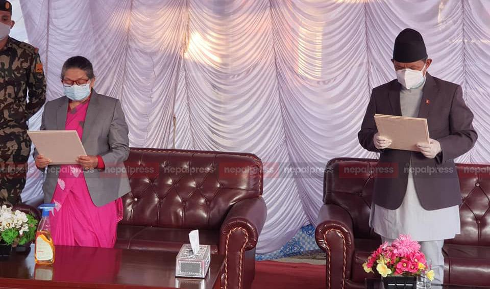 गण्डकीको मुख्यमन्त्रीमा पृथ्वीसुब्बा गुरुङ पुन: नियुक्त