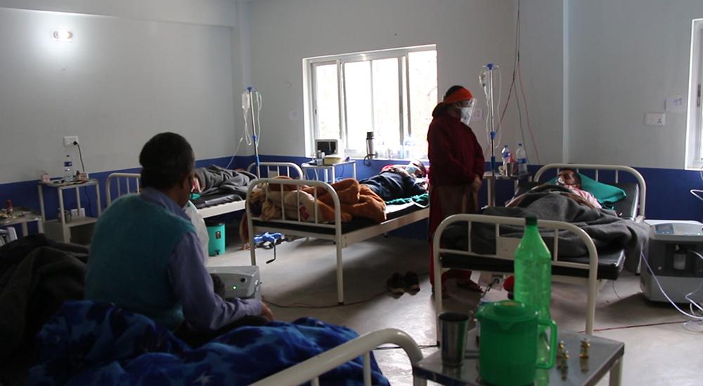 सल्यान जिल्ला अस्पतालमा अक्सिजन सकियो