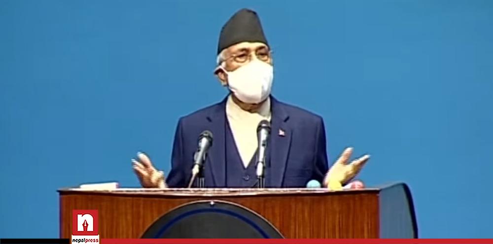 राष्ट्रिय स्वाधीनता र स्वाभिमान उँचो राखेका छौं : प्रधानमन्त्री ओली