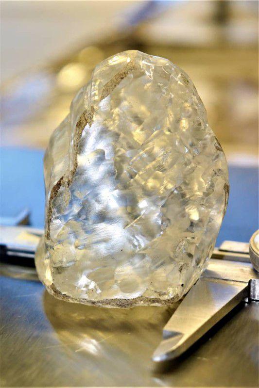 भेटियो पृथ्वीमै तेस्रो ठूलो आकारको बहुमूल्य धातु हीरा