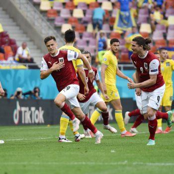 युक्रेनलाई हराउँदै अस्ट्रिया पहिलो पटक युरोपियन च्याम्पियनसिपको नकआउटमा