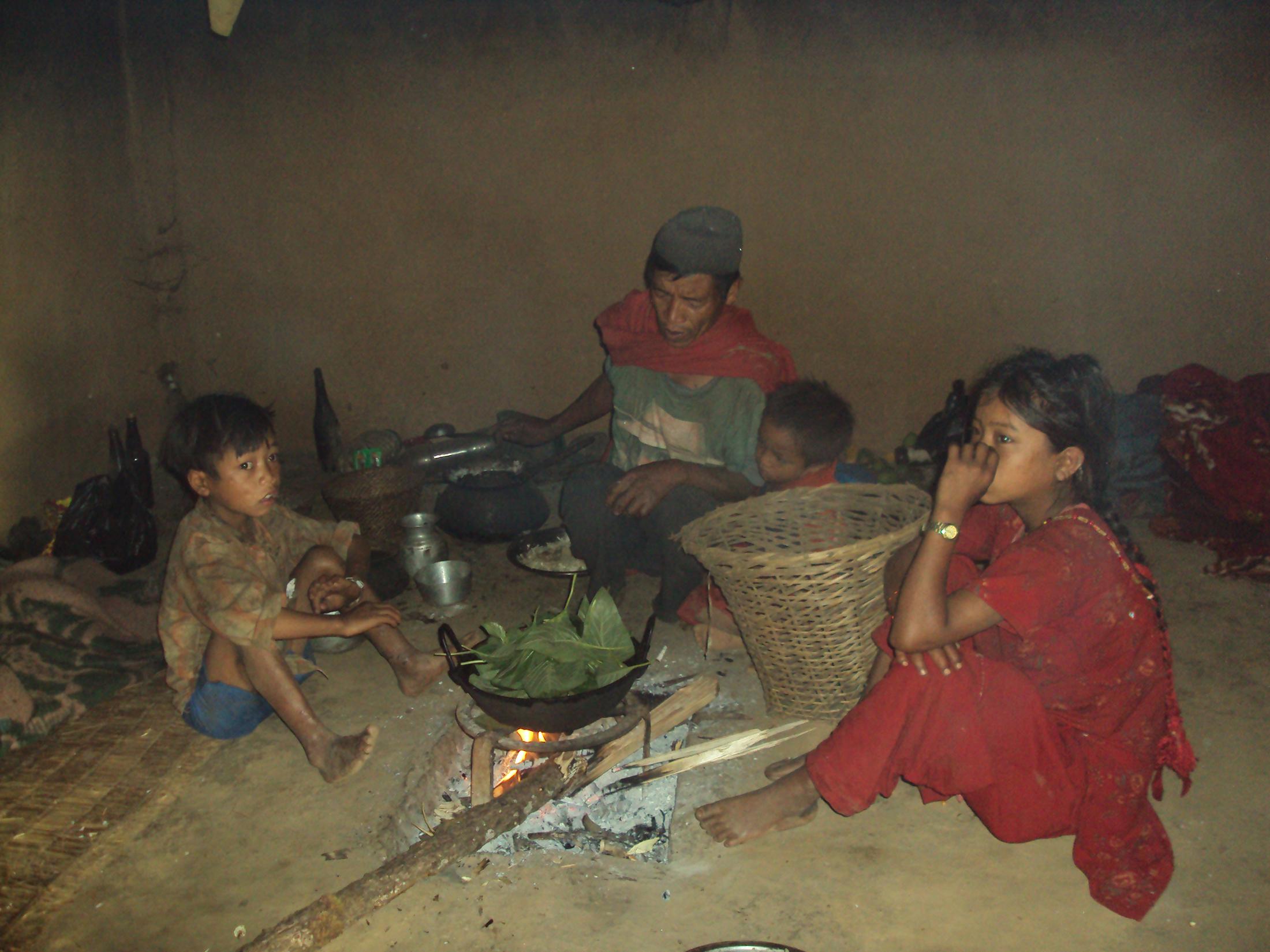 'घरमा अन्न छैन, जंगलमा कन्दमूल'