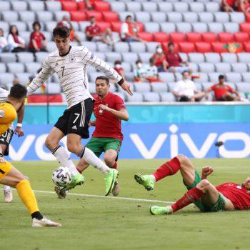 जर्मनीसँग ४-२ गोलको नतिजामा हार्यो पोर्चुगल