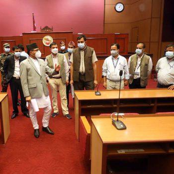 राष्ट्रियसभा बैठकका लागि तयारी गर्न अध्यक्ष तिमिल्सिनाको निर्देशन