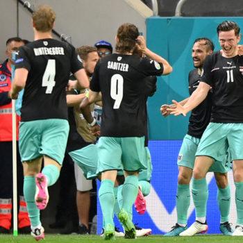 युरो २०२०: अस्ट्रियासँग नर्थ मेसिडोनिया ३-१ ले पराजित