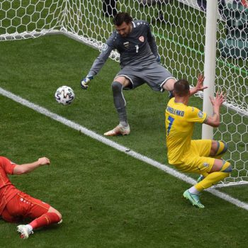 युक्रेनसँग नर्थ मेसिडोनिया २-१ ले पराजित
