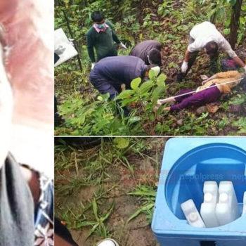 कोरोनाको खोप बोकेर हिँडेकी अस्मिता बाटोमै ढलिन्, हत्याको आशंका