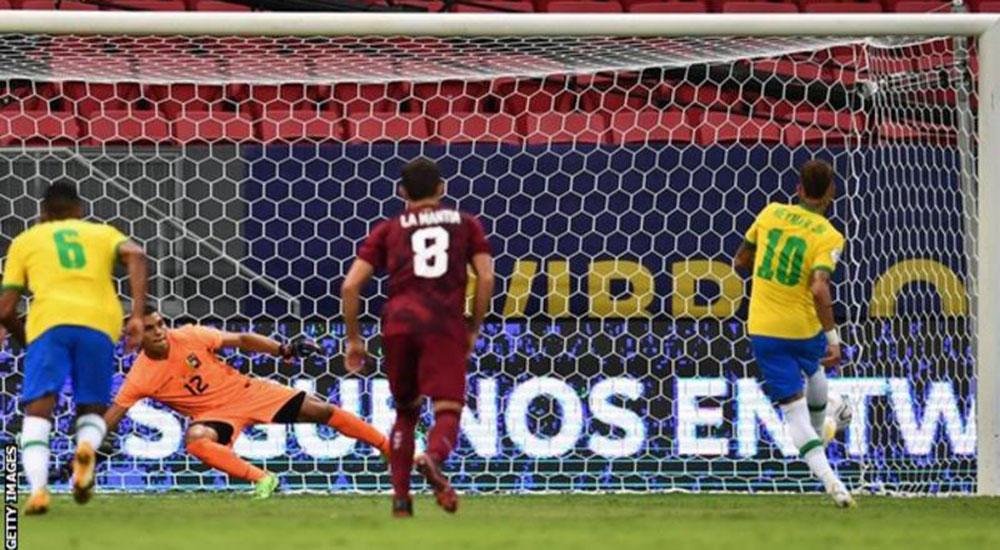 कोरोना प्रभावित भेनेजुएलामाथि ब्राजिलको विजयी सुरुआत