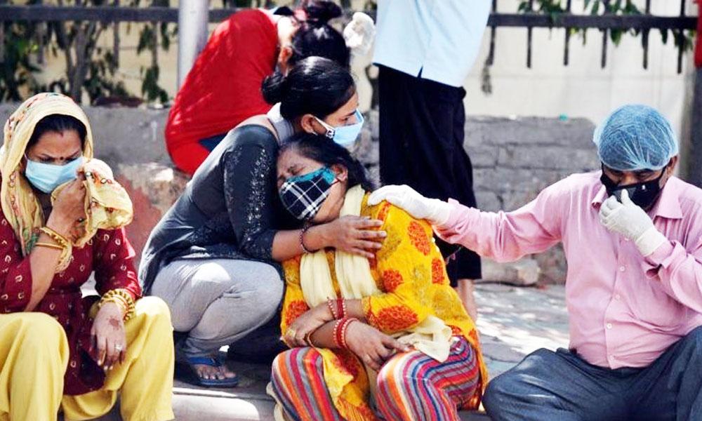 भारतमा कोरोनाबाट एकैदिन ६१ सयको मृत्यु