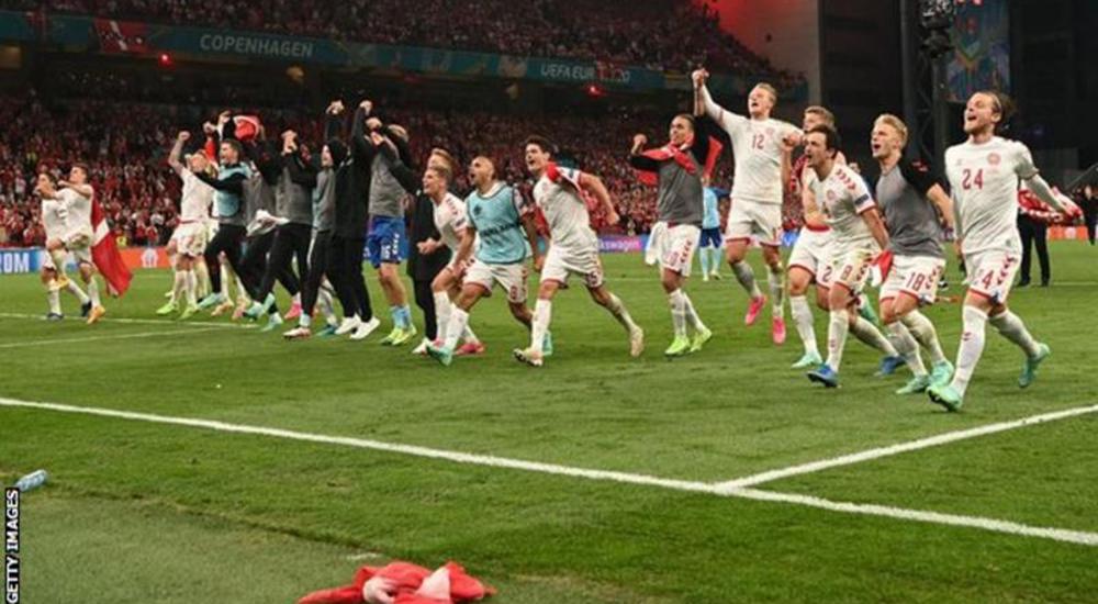रुसमाथिको प्रभावशाली जितपछि डेनमार्क नकआउटमा, बेल्जियम समूह विजेता