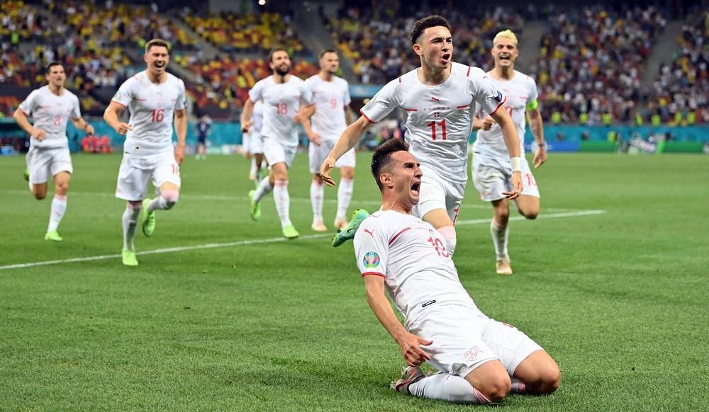 युरो २०२०: फ्रान्सलाई पेनाल्टीमा हराउँदै स्वीट्जरल्यान्ड पहिलो पटक क्वार्टरफाइनलमा