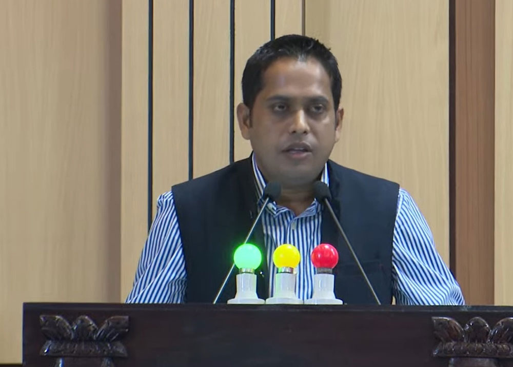 लुुम्बिनी कांग्रेस सचेतकको टिप्पणी- नीति तथा कार्यक्रम बेलुनजस्तो