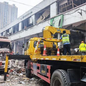 चीनमा ग्यास बिस्फोटनबाट १२ जनाको मृत्यु