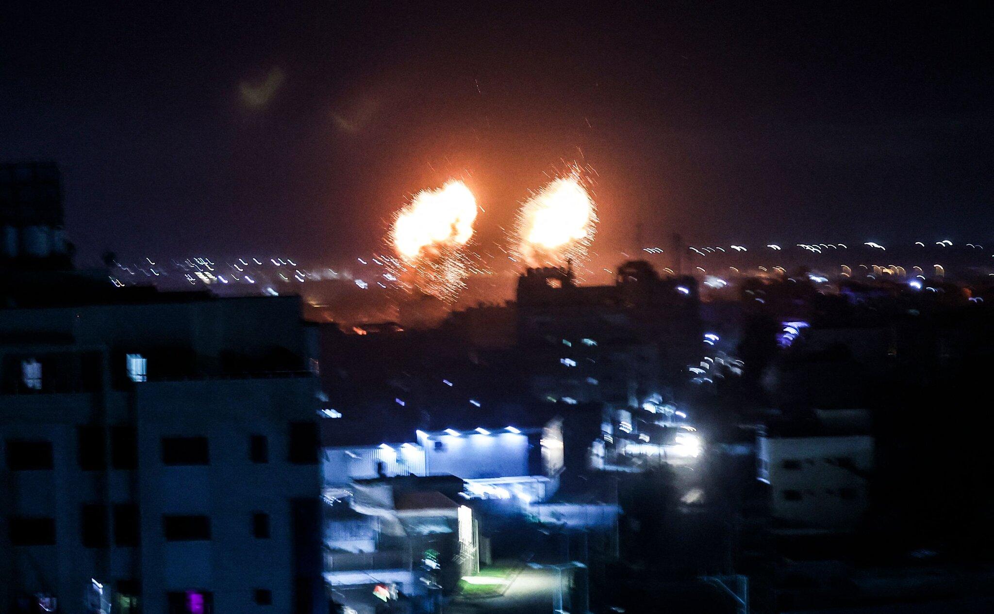 युद्धविराम उल्लंघन गर्दै इजरायली सेनाद्वारा गाजा क्षेत्रमा पुनः हवाइ आक्रमण