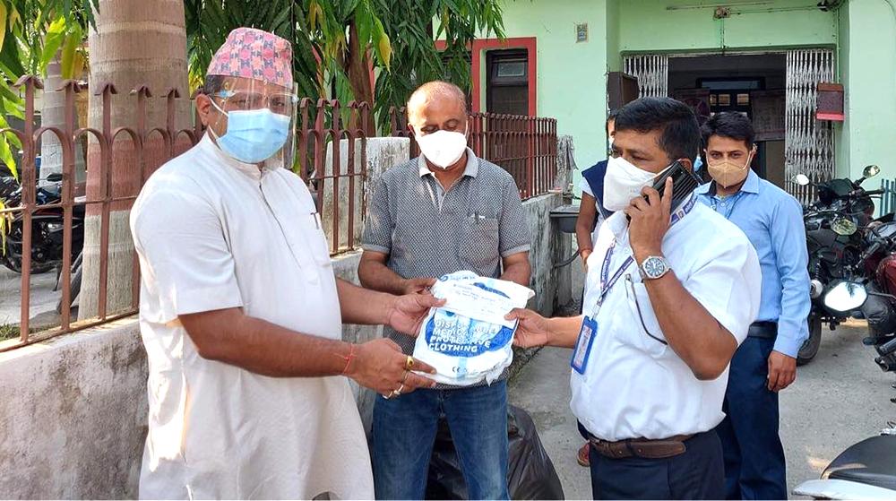 कोशी अस्पताललाई जापानमा रहेका पूर्वेली नेपालीको सहयोग
