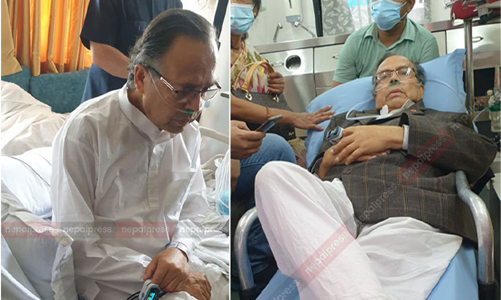 झलनाथ उपचारका लागि नयाँ दिल्ली प्रस्थान (तस्वीरहरु)