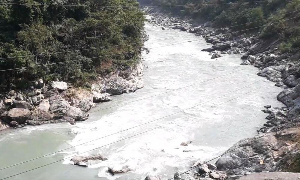 मर्स्याङ्दी नदी तटीय क्षेत्रमा सतर्कता अपनाउन आग्रह