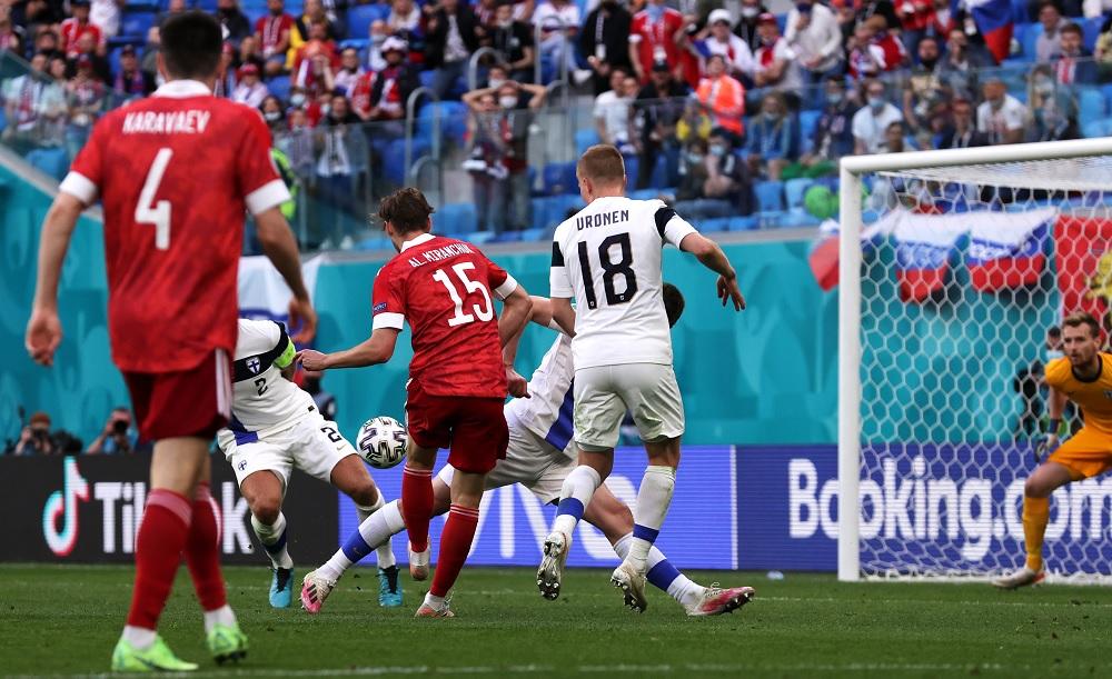 युरो २०२० मा रुसको पहिलो जित: फिनल्यान्ड १-० ले पराजित