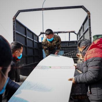 वाइडबडी जहाजमार्फत मलेसियाबाट २४ शव नेपाल ल्याइयो