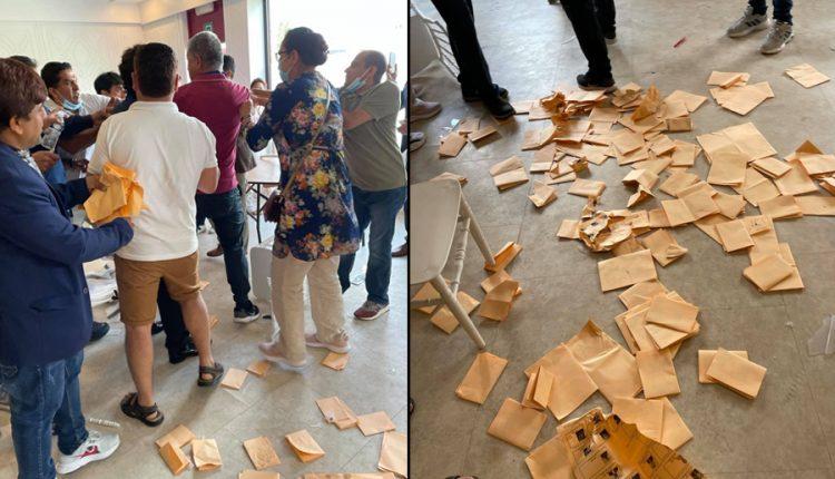एनआरएनए बेल्जियमको चुनाव बिथोलियो, मतपेटिका तोडफोड