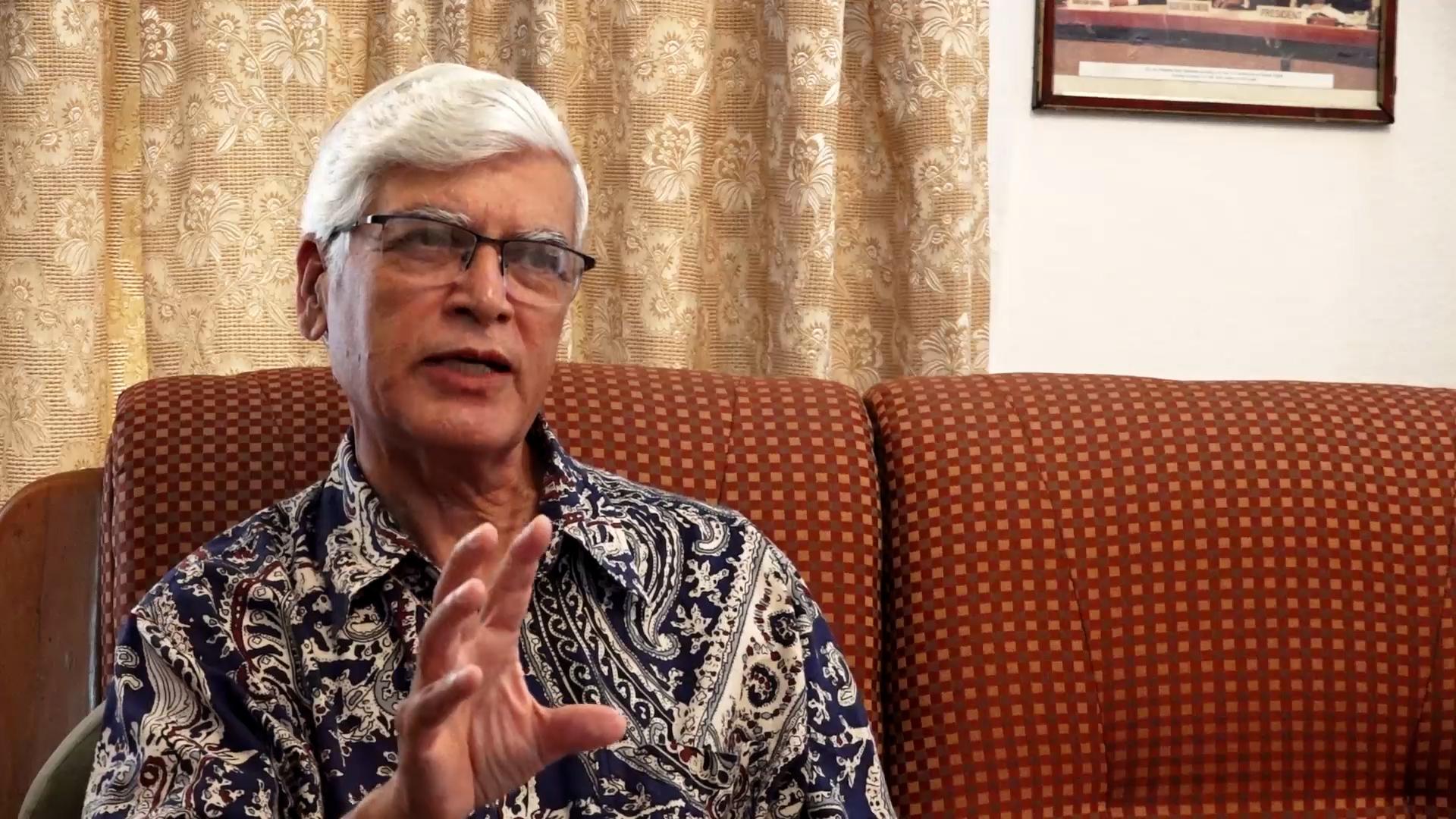 'देउवा सरकारको प्राथमिकता खोप र आर्थिक कूटनीतिमा केन्द्रित हुनुपर्छ' (भिडियो)